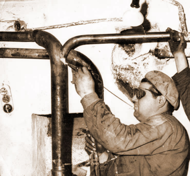 Julio Ausens Escartín, el fundador de Ausens Fontanería y Calefacción S.L.
